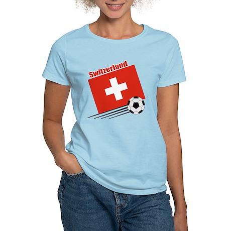 Switzerland Soccer Team Women's Light T-Shirt