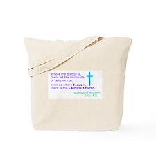 Ignatius of Antioch Tote Bag