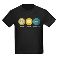 Peace Love Auto Glass T