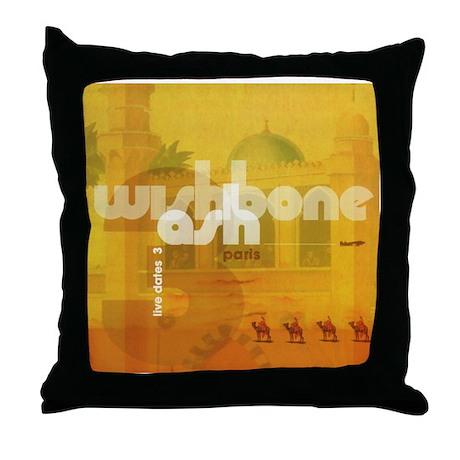 Live Dates 3 Throw Pillow