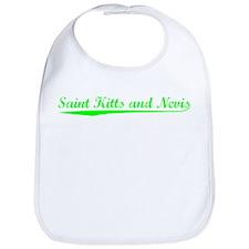 Vintage Saint Kitt.. (Green) Bib