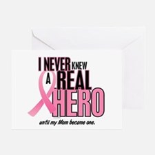 Never Knew A Hero 2 (Mom) Greeting Card