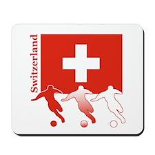 Switzerland Soccer Mousepad