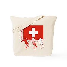 Switzerland Soccer Tote Bag