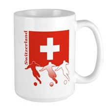 Switzerland Soccer Mug