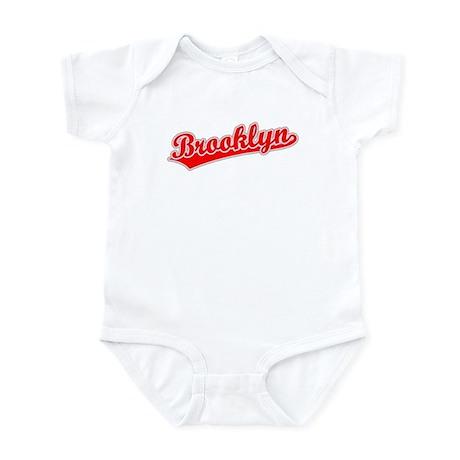 Retro Brooklyn (Red) Infant Bodysuit