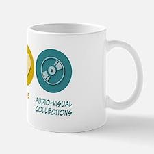 Peace Love Audio-Visual Collections Mug