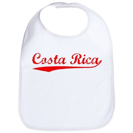 Vintage Costa Rica (Red) Bib