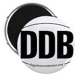 Round 'European-Look' DDB Magnet