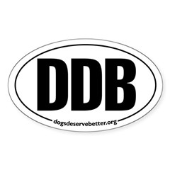 Round 'European-Look' DDB Oval Decal