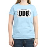 Round 'European-Look' DDB Women's Pink T-Shirt