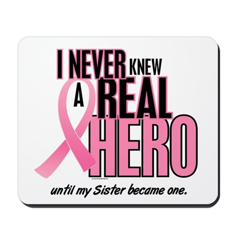 Never Knew A Hero 2 (Sister) Mousepad