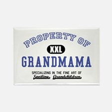 Property of Grandmama Rectangle Magnet