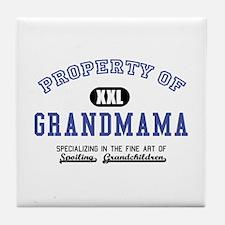 Property of Grandmama Tile Coaster