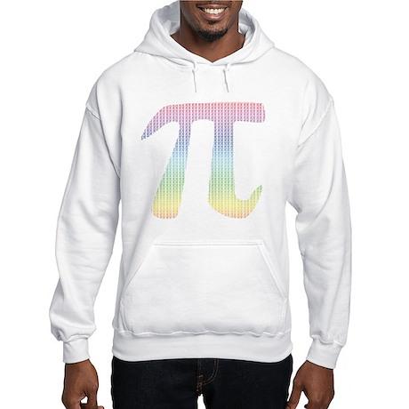 Rainbow Mega Pi - Hooded Sweatshirt