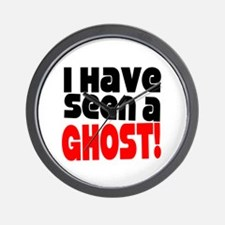 I Have Seen A Ghost Wall Clock