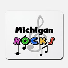 Michigan Rocks Mousepad