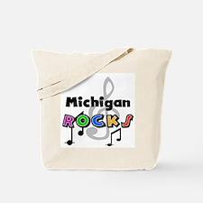 Michigan Rocks Tote Bag