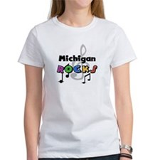 Michigan Rocks Tee