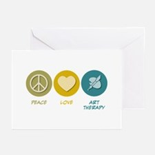 Peace Love Art Therapy Greeting Cards (Pk of 20)