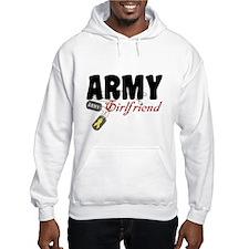 Army Girlfriend Dog Tags Hoodie