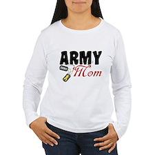 Army Mom Dog Tags T-Shirt