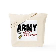 Army Mom Dog Tags Tote Bag