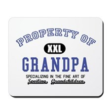 Property of Grandpa Mousepad