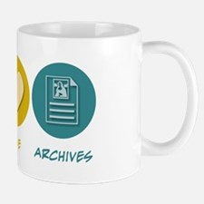 Peace Love Archives Mug