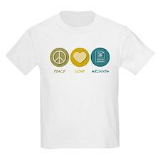 Peace Love Archives T-Shirt