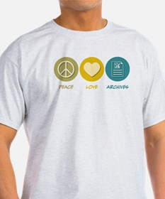 Peace Love Archives T-Shirt