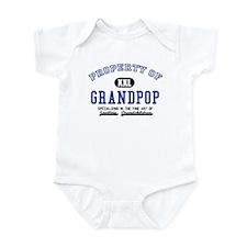 Property of Grandpop Infant Bodysuit