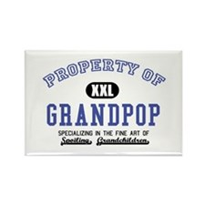 Property of Grandpop Rectangle Magnet (10 pack)