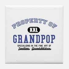 Property of Grandpop Tile Coaster