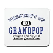 Property of Grandpop Mousepad