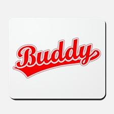 Retro Buddy (Red) Mousepad