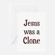 J-Clone - Greeting Card