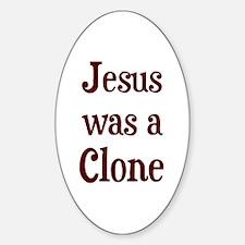 J-Clone - Oval Decal