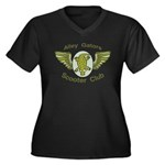 Alley Gators Scooter Club Women's Plus Size V-Neck