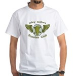 Alley Gators Scooter Club White T-Shirt