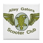Alley Gators Scooter Club Tile Coaster