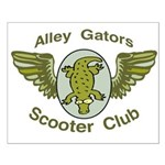 Alley Gators Scooter Club Small Poster