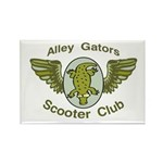 Alley Gators Scooter Club Rectangle Magnet