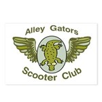 Alley Gators Scooter Club Postcards (Package of 8)