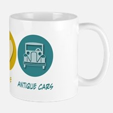 Peace Love Antique Cars Mug