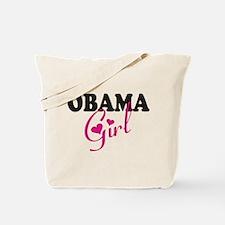 OBAMA GIRL Tote Bag