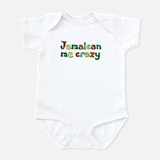 Jamaican me crazy Infant Bodysuit