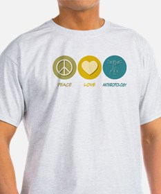 Peace Love Anthropology T-Shirt