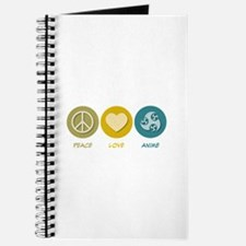 Peace Love Anime Journal
