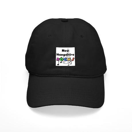New Hampshire Rocks Black Cap